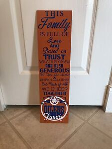 Family Cheer Signs