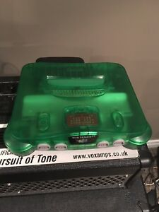 Jungle green n64 with expansion pack