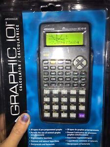 New GRAPHING CALCULATOR in packaging
