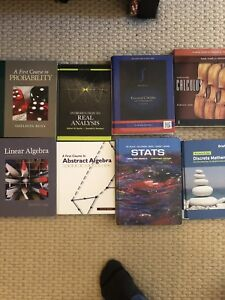 Text books for classes at Mount Saint Vincent University
