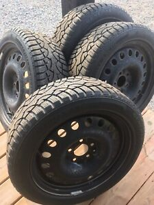Four used winter tires: General Altimax Arctic 205/50R17