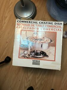 Commercial chafing  Dish
