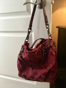 Authentic Coach Slouch Bag