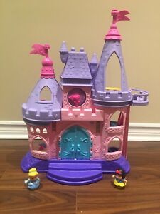 Fisher Price Little People Princess Castle with Sounds