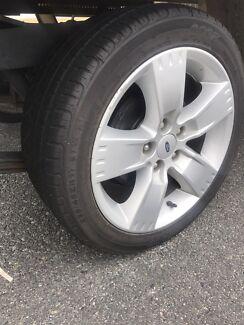 Ford mag wheels