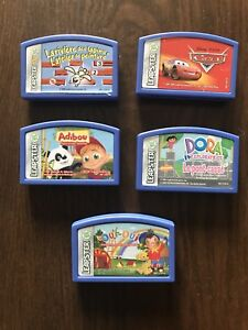5 jeux/games Leapster