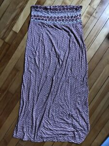 Maxi skirt, great for maternity wear