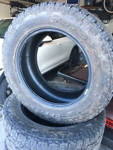 4 - Toyo Open Country A/T II  305/55R20