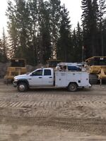 Chetwynd Mobile heavy equipment mechanic with truck for hire
