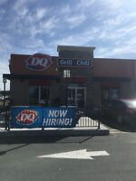 Now Hiring Fulltime staff for Southlands DQ