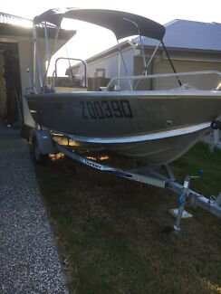 2014 Bluefin Rogue Deluxe 4.25m 30HP