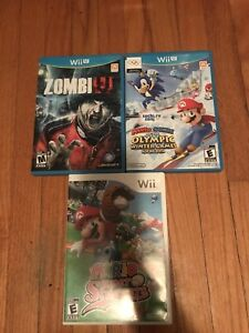 Wii, wii u and Xbox 360 games