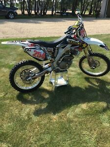 250r Honda dirtbike and gear
