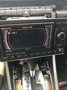 Audi RNS-E navigation
