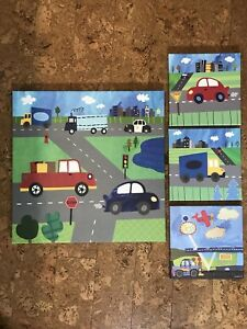 Boys Wall art cars canvases