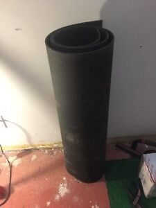 3 rubber mats used as gym flooring