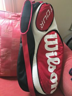 Tennis bag - single shoulder strap