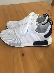 Adidas NMD R1 white/blue size 11 New Farm Brisbane North East Preview