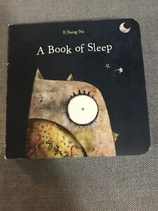 A Book of Sleep - board book for baby / toddler