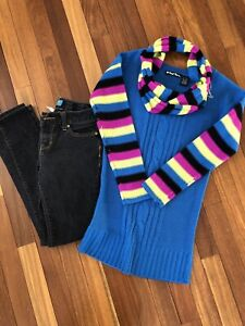 Size 10 jeans and tunic