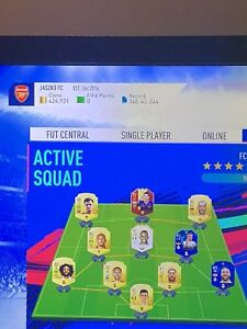 4m FIFA 19 FUT Account and Xbox One