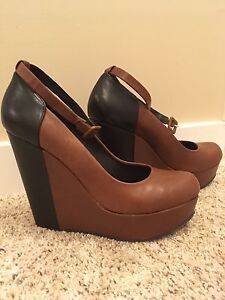 Wedge shoes, size 9