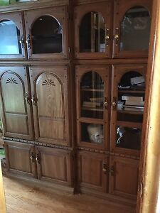 FREE Display cabinets