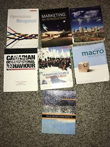 COMM AND ECON TEXTBOOKS
