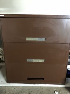 Lateral 3-drawer Filing Cabinet