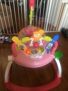 **reduced** Fisher-Price Floral Confetti Space Saver Bouncer