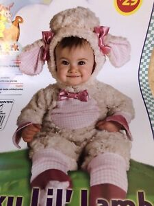 Lamb Baby Girl Halloween Costume sized 12-18 months BNIB
