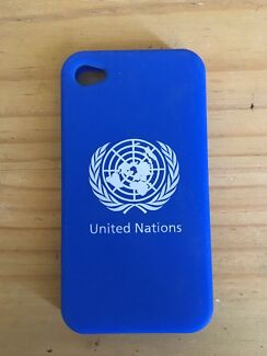 IPhone 5 case - United Nations blue