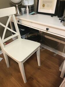 Selling IKEA Hemnes Desk and Ingolf chair
