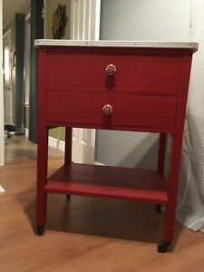 Retro kitchen cart