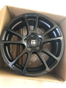 "BRAND new 17"" touren tf03 black wheels 5x112 $560 FIRM"