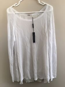 NEW NYC Sample Sale White Blouse