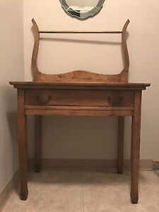 Antique Wash Stand - Hall Table or Night stand