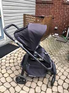 Uppababy Cruz with Bassinet