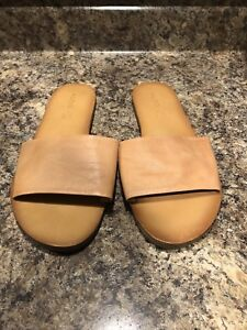 Aldo genuine leather sandals.