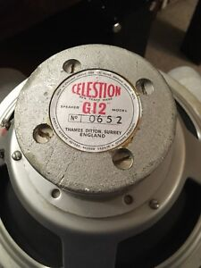 Celestion G12 60's reconed