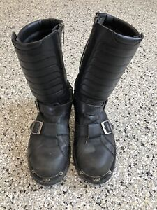 Bottes moto homme 11.5 Harley Davidson men's riding boots 11-1/2