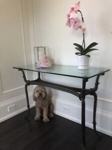 Beautiful Console Table (purchased from Bombay)