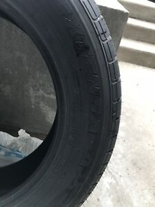 2 tires almost brand new ( 2 weeks old)