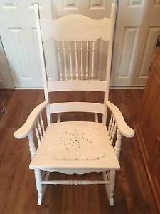 Chaise berçante