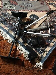 Camera stabilizer (ProAm Autopilot) with tripod, 2 mic