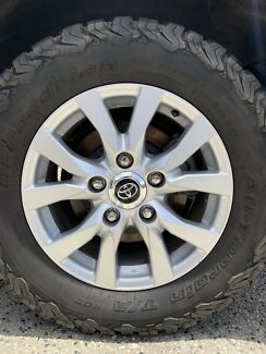 Toyota 200 series wheels and tyres Lennox Head Ballina Area Preview