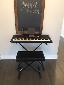 YAMAHA PSR E223 Electric Digital Keyboard