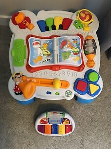 Leap Frog play table and piano