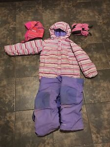 Girls Columbia winter set