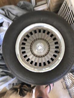 Torana wheels and tyres